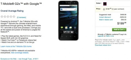 tmobile g2x phone. LG Optimus 2X (T-Mobile G2X)