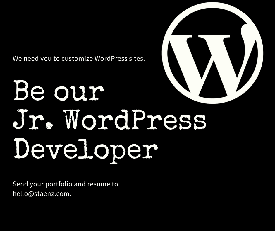 Junior WordPress Developer