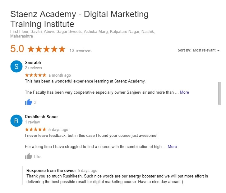 Staenz Academy Review