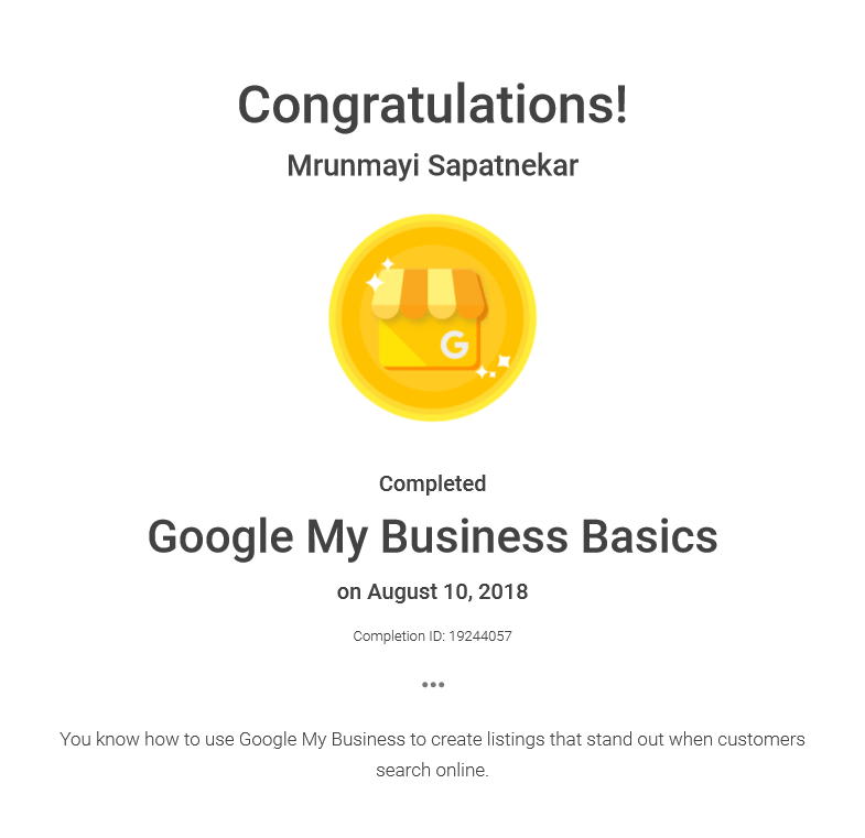 Step By Step Guide To Complete Google My Business Certification Staenz
