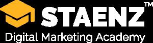 STAENZ Logo White
