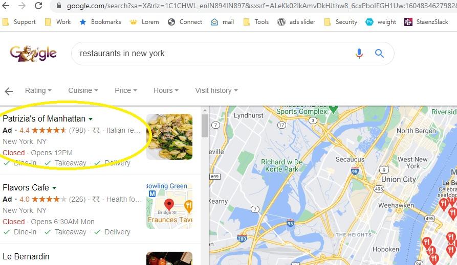 restaurant digital marketing new york